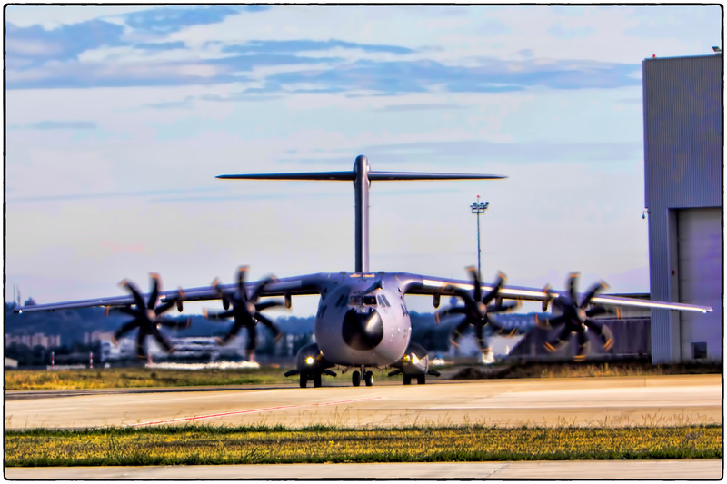 A400M Ready for Takeoff