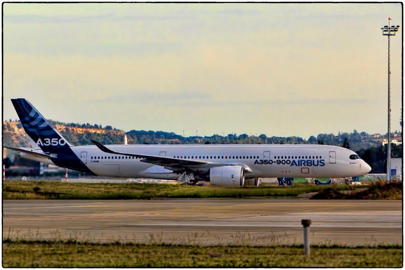 A350 Test Aircraft