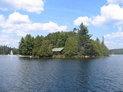 Front of the Island
