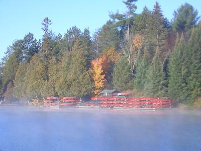 Pathfinder Canoe Dock
