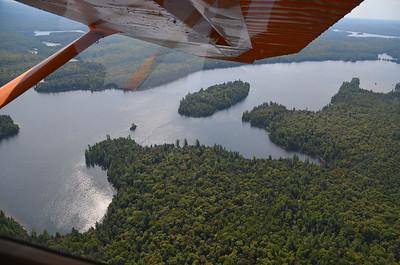 Aerial view of Pathfinder Island