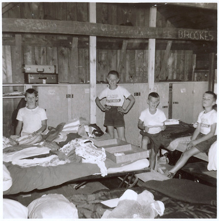 A look inside Lodge IIW in 1960.