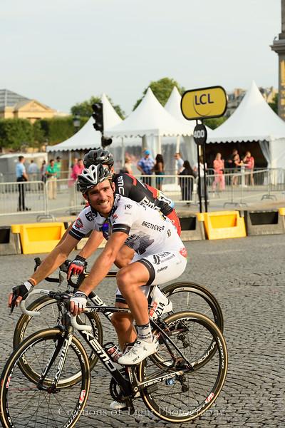 Romain Feillu in white