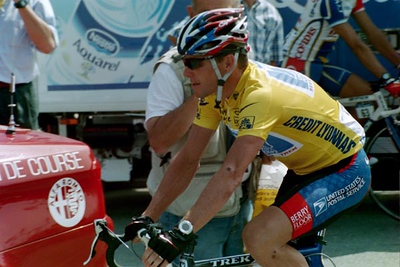 Stage 18 - Bordeaux to Maixent l'Ecole - Lance Armstrong