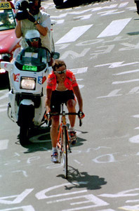 Stage 8 - L'Alpe d'Huez - Iban Mayo