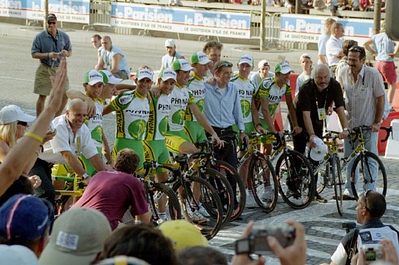 Stage 20 - Champs-Elysees Paris - Team Phonak