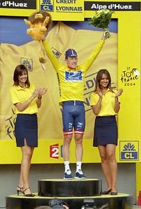 Stage 16 - L'Alpe d'Huez TT - Lance Armstrong
