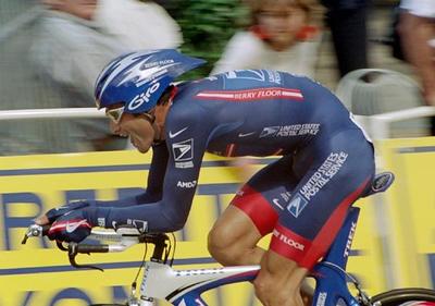Stage 19 - Besancon TT - George Hincapie