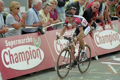Stage 16 - L'Alpe d'Huez Time Trial - Carlos Sastre