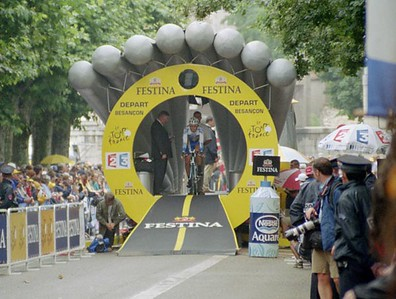 Stage 19 - Besancon TT - Start house