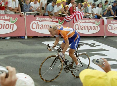 Stage 16 - L'Alpe d'Huez Time Trial - Levi Leipheimer