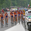 8973 Rasmussen and Rabobank at the front of the peloton