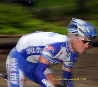 Sylvain Chavanel chasing hard