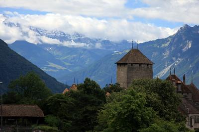 Castle, Lake Geneva