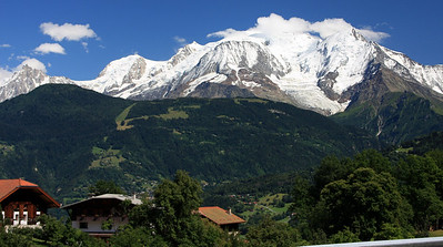 Massif du Mont Blanc, from the Salsies