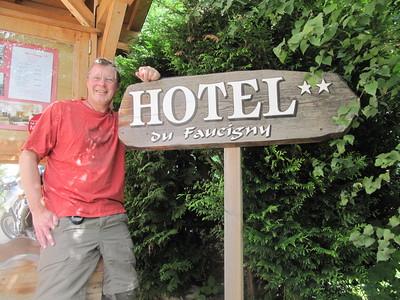 We've arrived in Chamonix, France the start of our Trek.