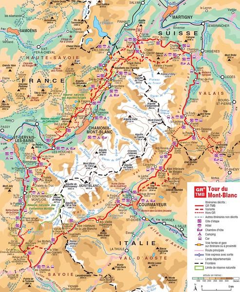 The Tour du Mont Blanc