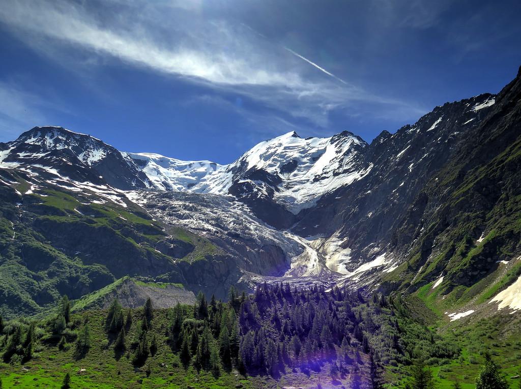 The Glacier de Bionnassay