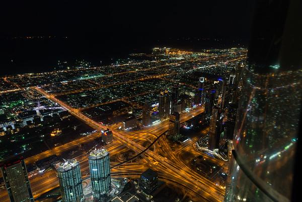 Au-dessus de Dubai