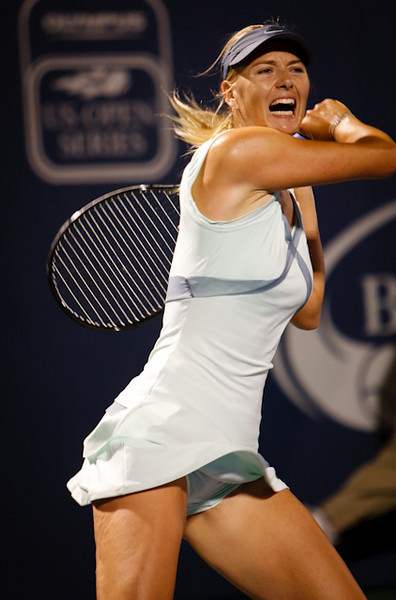 Maria Sharapova at the 2010 Bank of the West US Open tournament.
