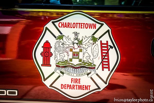 Tour of Charlottetown Fire July 1, 2016