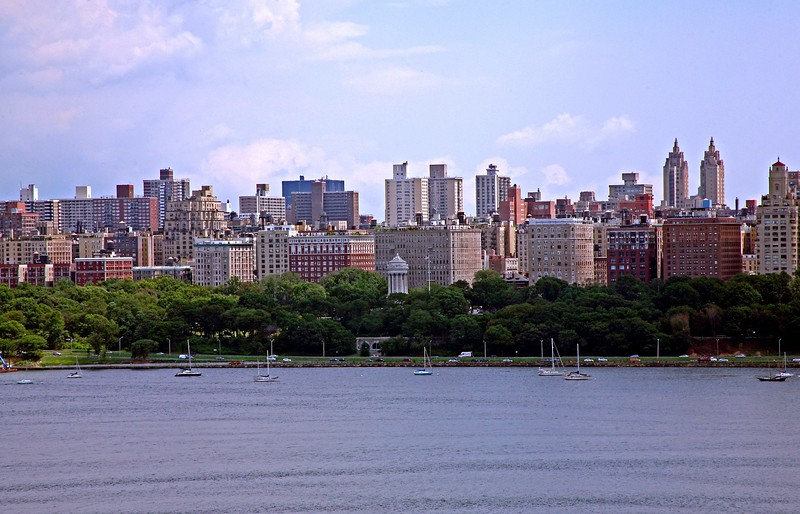 View of the West Side of Manhattan From New Jersey