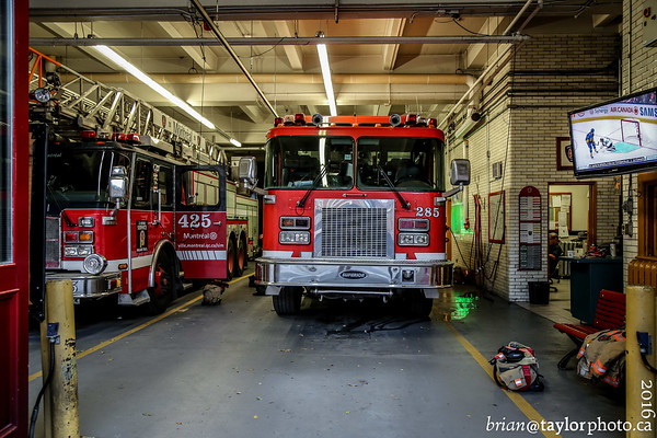 Tour of Station 25, Montreal
