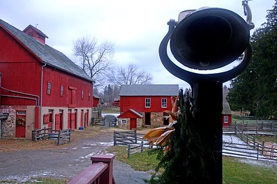 Fosterfields Living Historical Farm in Winter