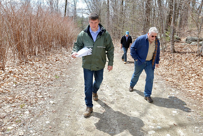 "Tour of land in Fitchburg for ""Game On"" soccer fields"