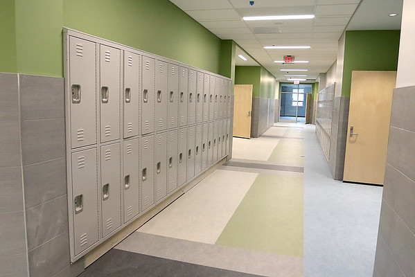 Tour of the new North Middlesex Regional High School, April 12, 2017