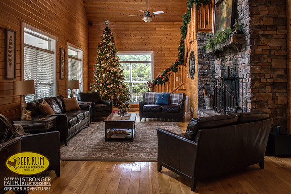 Evergreen Christmas at the Lodge