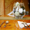 THE LODGE DINING ROOM FARM TABLE SETTING