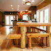 THE LODGE DINING ROOM FARM TABLE