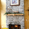 THE LODGE DINING ROOM FIREPLACE