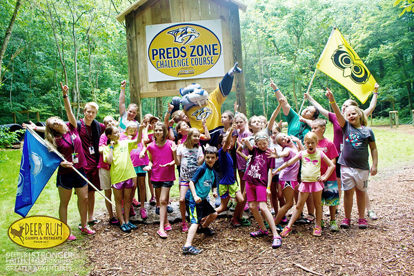 Team Building: Preds Zone Obstacle Course
