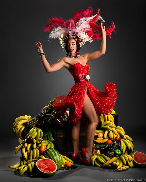 Carmen Miranda by Tatiana