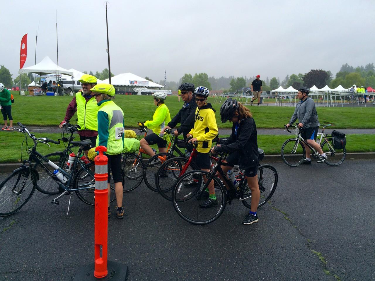 2015 Tour de Cure Oregon, Amberglen Park, Hillsboro.<br /> The 49 Ride (White course) 8:30am start