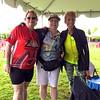 2015 Tour de Cure Oregon, Amberglen Park, Hillsboro.<br /> The 2015 Champions Chairladies-Nancy Haase, Margo Nakagawa, Ginger Buzzell
