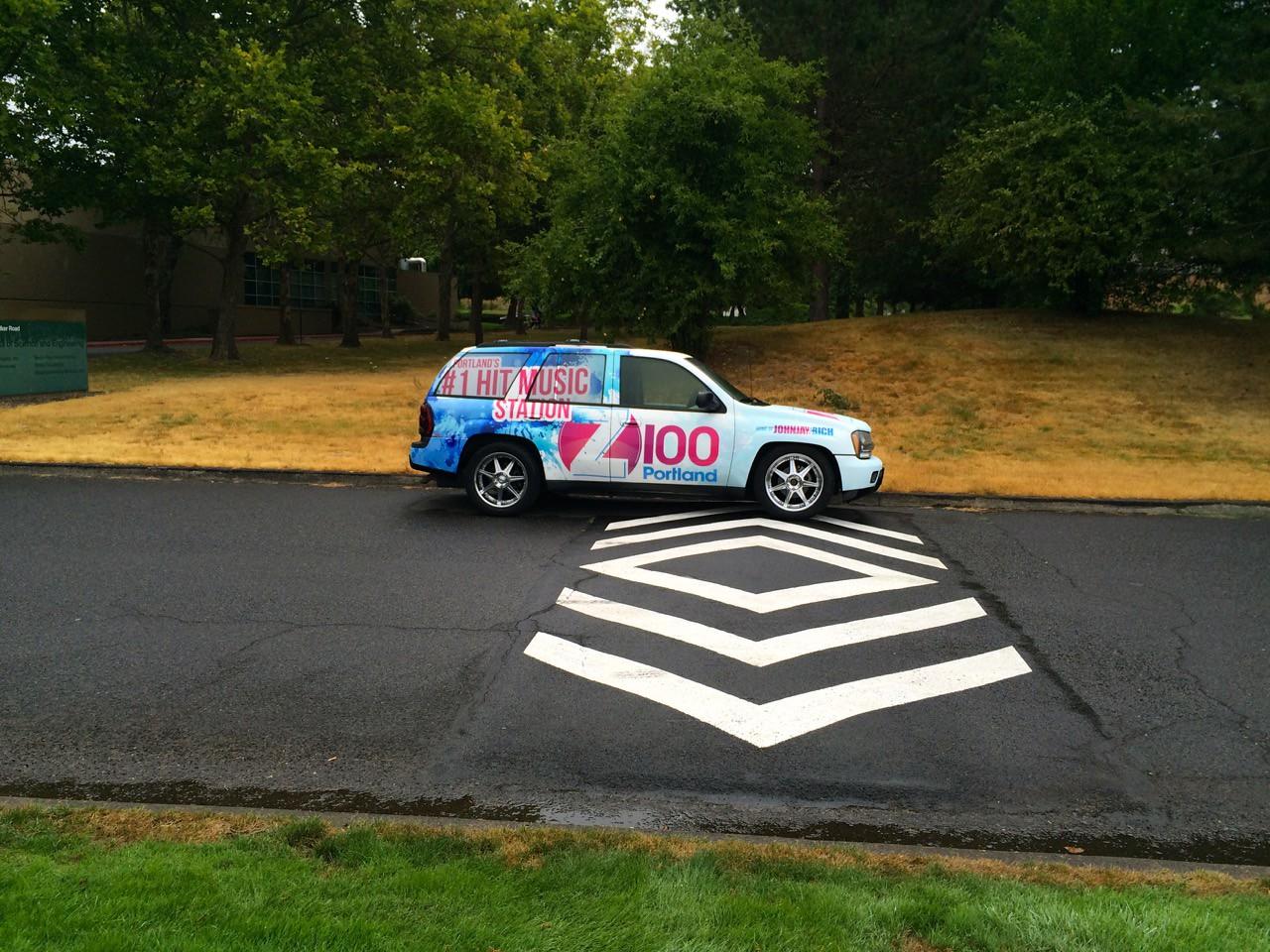 2015 Tour de Cure Oregon, Amberglen Park, Hillsboro.<br /> The 29 Ride (Green course) 9:30am start