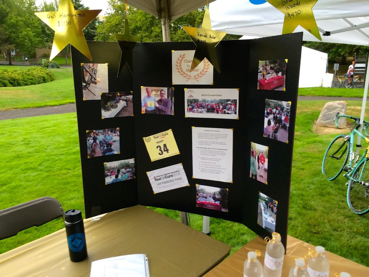 2015 Tour de Cure Oregon, Amberglen Park, Hillsboro.<br /> Margo's Champions 2015 Highlights