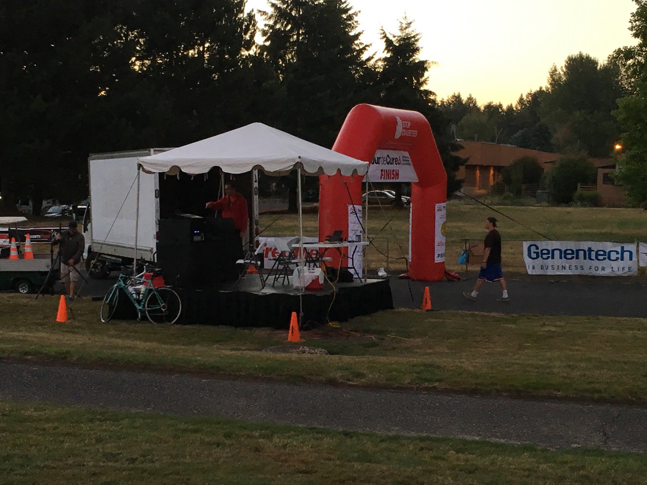 2016 Tour de Cure Oregon. Pre-ride for the century course.