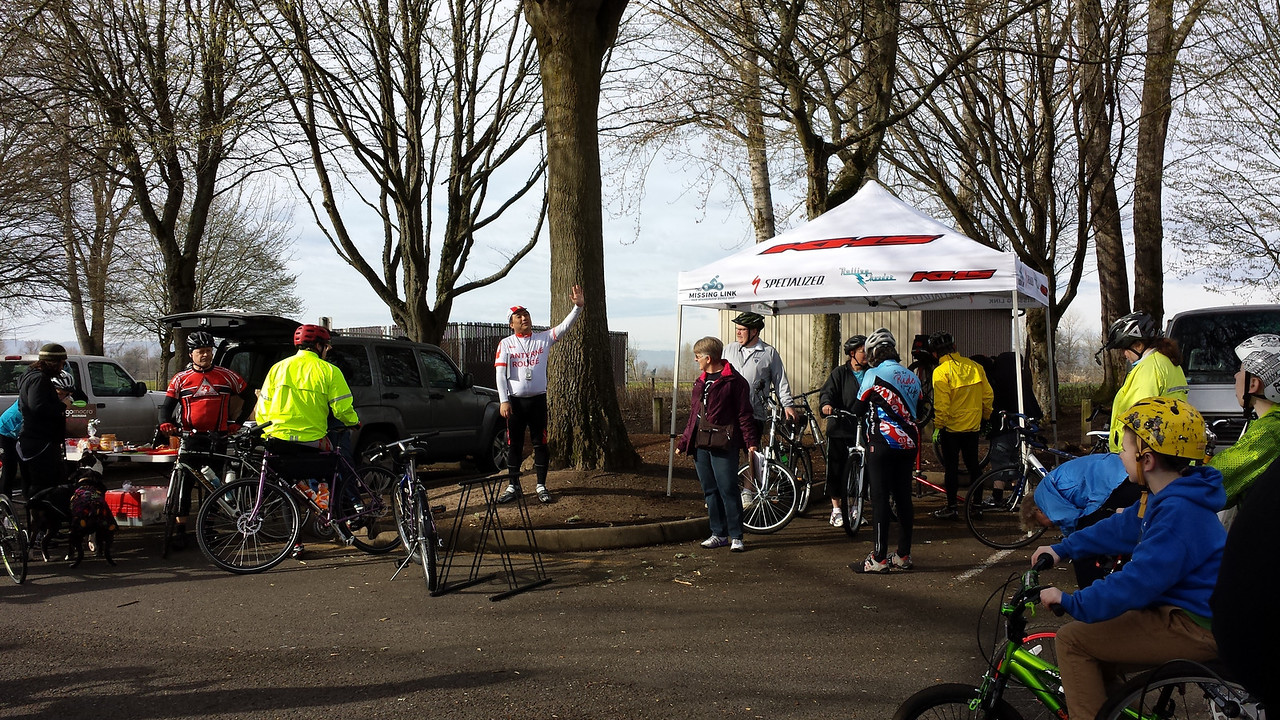 TDC Vancouver Lake Ride 3/15/2014<br /> Photos courtesy Robin Mann