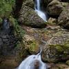 Zwei kleine Wasserfälle