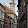Straße in der Innenstadt in Sopron