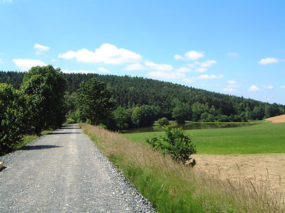 Radweg Bodenwöhr Neunburg ehemalige Bahnstrecke