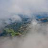 Die Wolken geben den Blick auf das Triebental frei