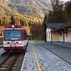 Pinzgauer Lokalbahn im Bahnhof Krimmel