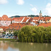 Maribor - Blick von der Glavni Brücke