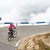 Radfahren auf über 2.500m; gestartet sind wir auf 811m
