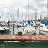 Einer der vielen Yachthäfen; hier der von Balatonkenese